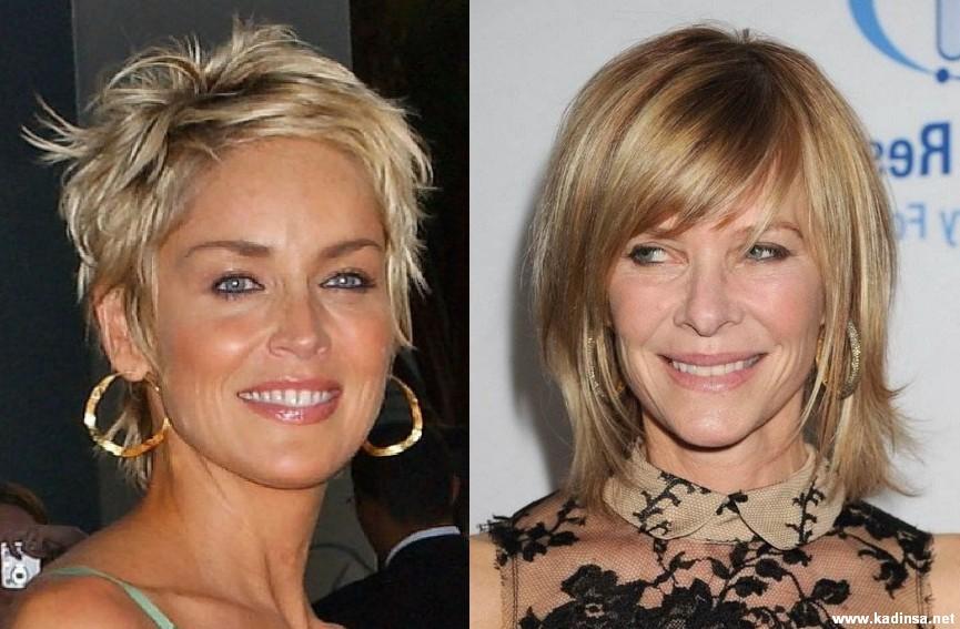 40 Yaş Üstü Bayanlar İçin Kısa Saç Modelleri