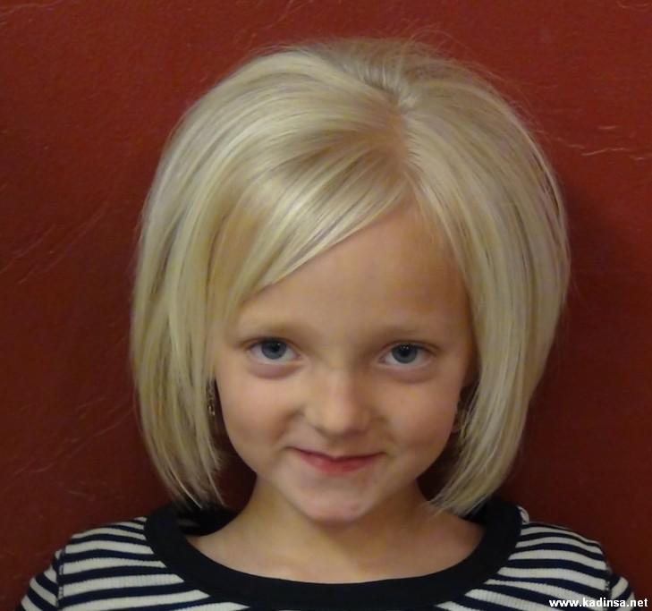 Çocuklar İçin Kısa Kesim Saç Modelleri