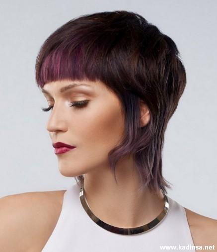 Kahküllü Kısa Saç Modelleri