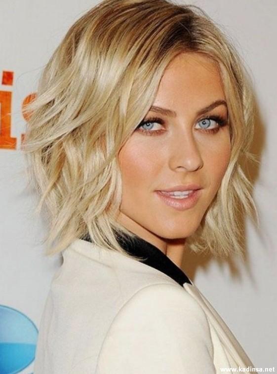 Omuz Hizası Kısa Saç Modelleri