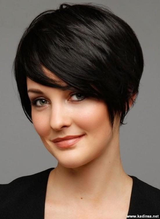 Yuvarlak Yüzler İçin Kısa Saç Modelleri