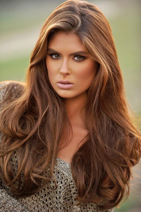Bayan Kahve Saç Modelleri
