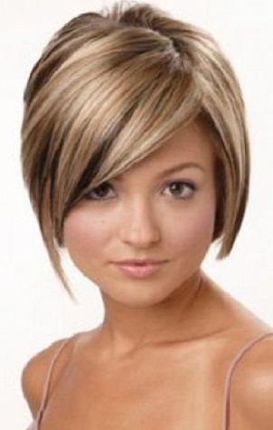 Bayan Kısa Kesim Saç Modelleri