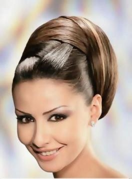 Bayan Topuz Saç Modelleri