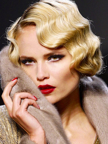 Dalgalı Retro Saç Modelleri