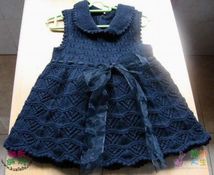 f68121738b491 Kızlar İçin Örgü Elbise Modelleri - Kadın & Moda Sitesi