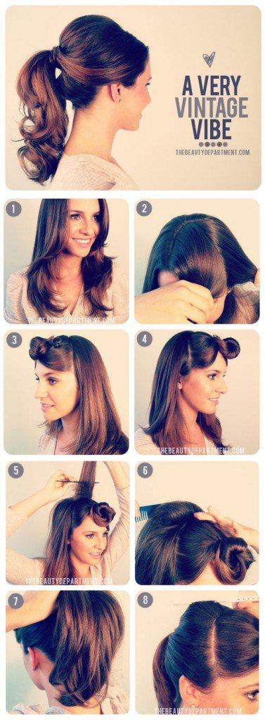 Retro Saç Modelleri Resimli