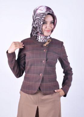 Bayan Tesettür Ceket Modelleri