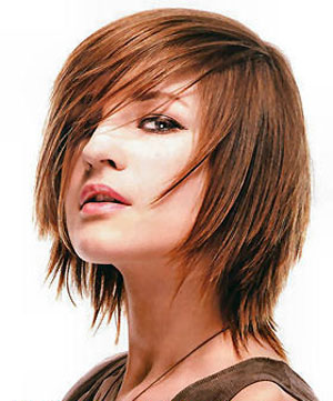 Bob Katlı Saç Kesim Modeli
