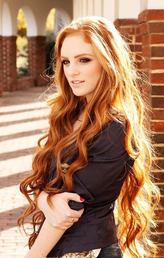 En Güzel Bakır Saç Rengi