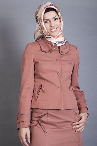 Kapalı Bayan Ceket Modelleri