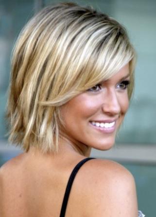 Kısa Sarı Saç Modelleri