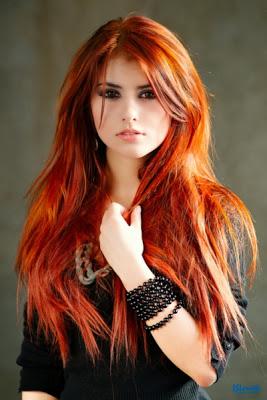 Turuncu Dore Saç Modelleri