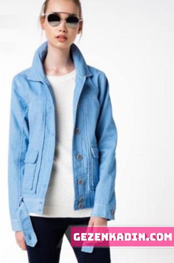 Cam göbeği bayan ceket modelleri