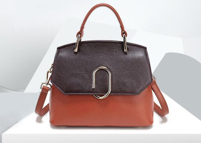 Çift renkli çanta modeli