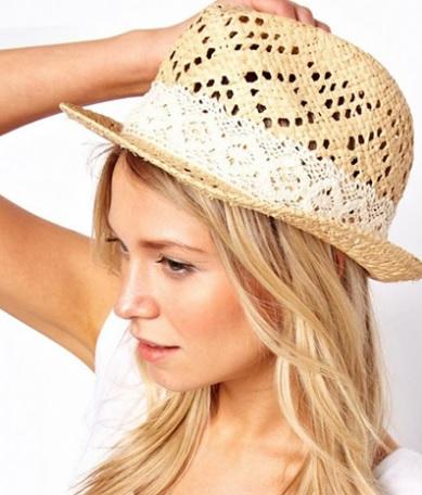 Delikli sonbahar-kış bayan şapka modelleri