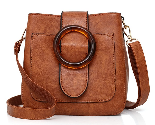 Kiremit rengi kadın çantası