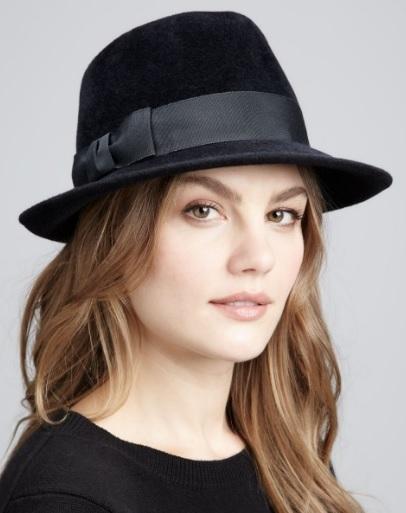 Siyah Renk Bayan Şapkası
