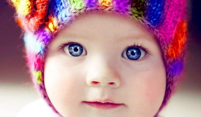 En güzel gözleri olan bebek