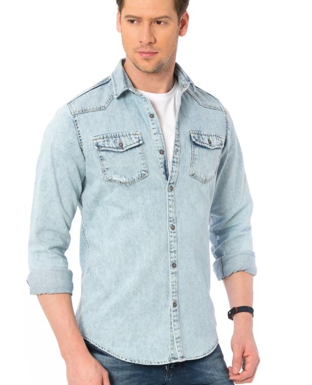 Lc Waikiki Jean gömlek modelleri