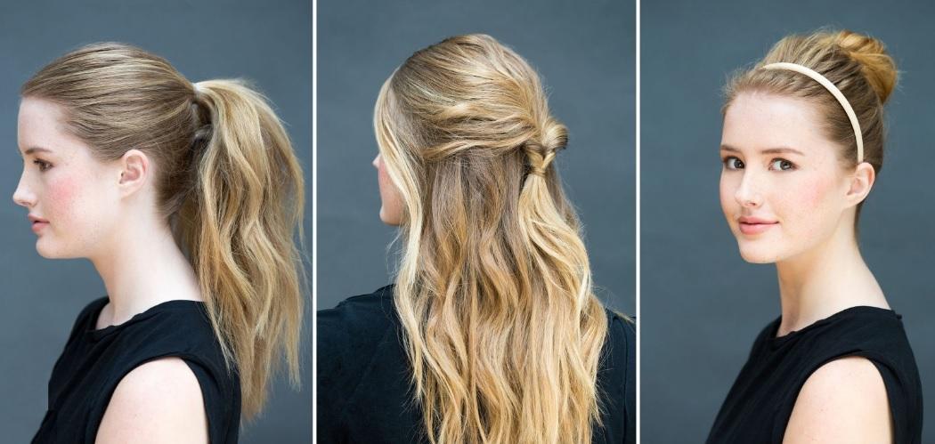 Saçları pratik bir şekilde şekle sokun