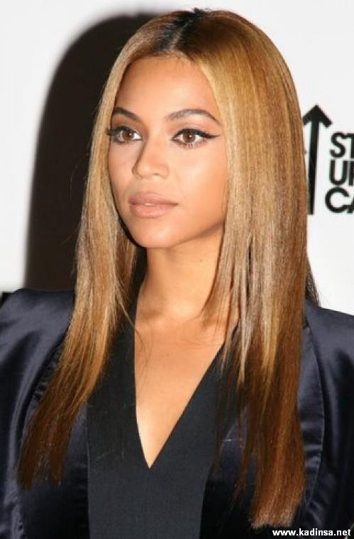 Düz Ombre Bal Köpüğü Saç Rengi Kadın Moda Sitesi