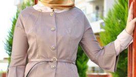 2018 Tesettür Bayan Ceket Modelleri Kıyafetlerin Tamamlayıcısı Olacak