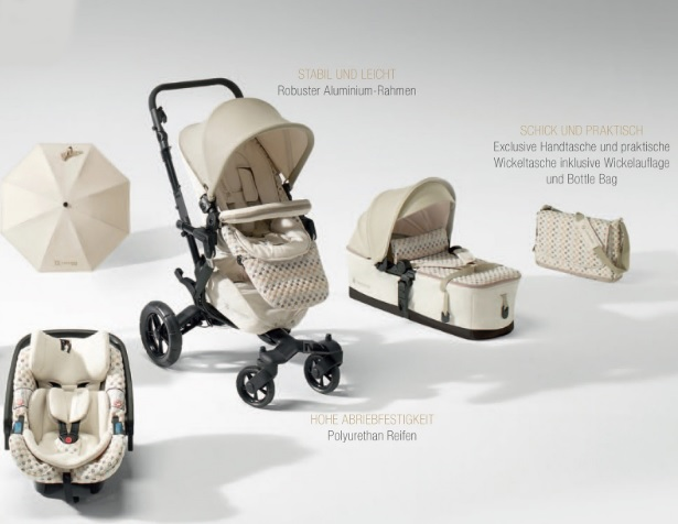 Concord pahalı bebek arabası modelleri