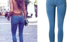 Düşük Belli Bayan Kot Pantolon Modelleri