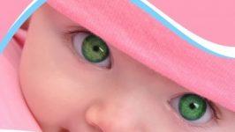 En Güzel Renkli Gözlere Sahip Olan Bebeklerin Resimleri