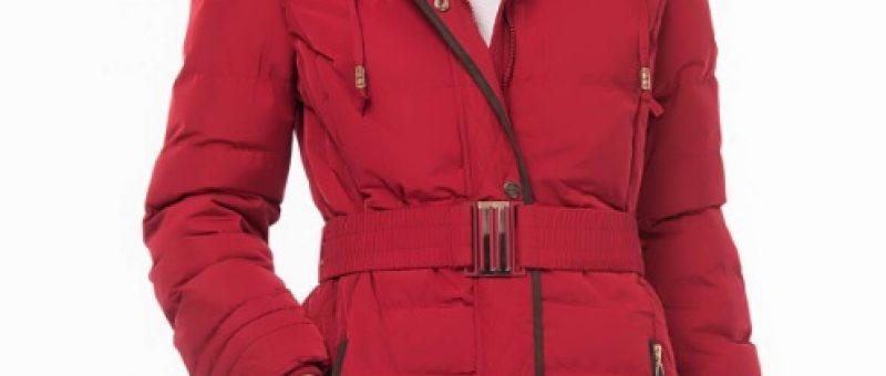 Kırmızı Renk Bayan Kaban Modelleri 2019