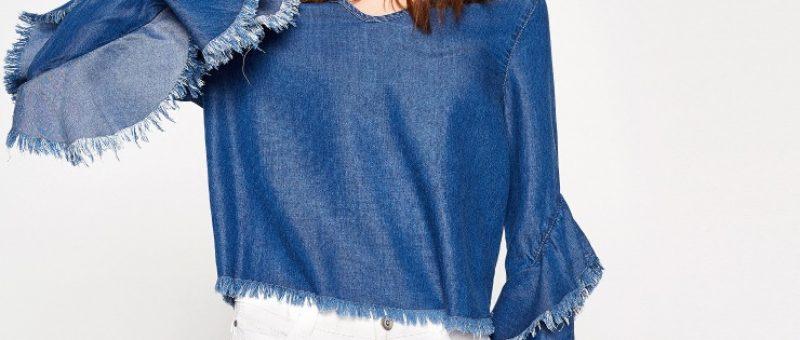 2019 Koton Kadın Jean Bluz Modelleriyle Rahat Tarzı Benimseyin